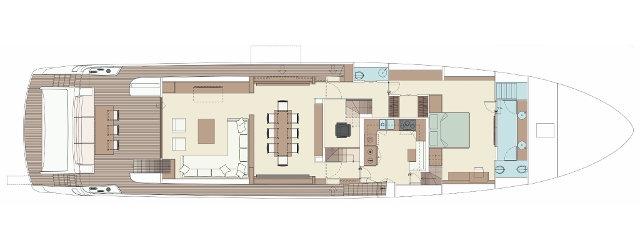 100' Corsaro layout